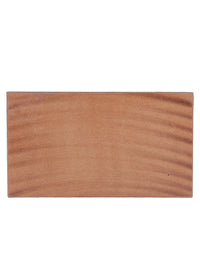 Handcrafted Multicolor Wave Pattern Wooden Serving Tray Set of 2