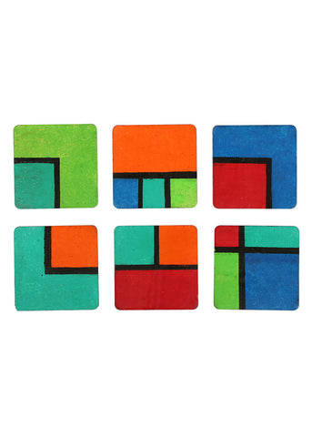 Hand-painted Colors of Compassion Coaster Set