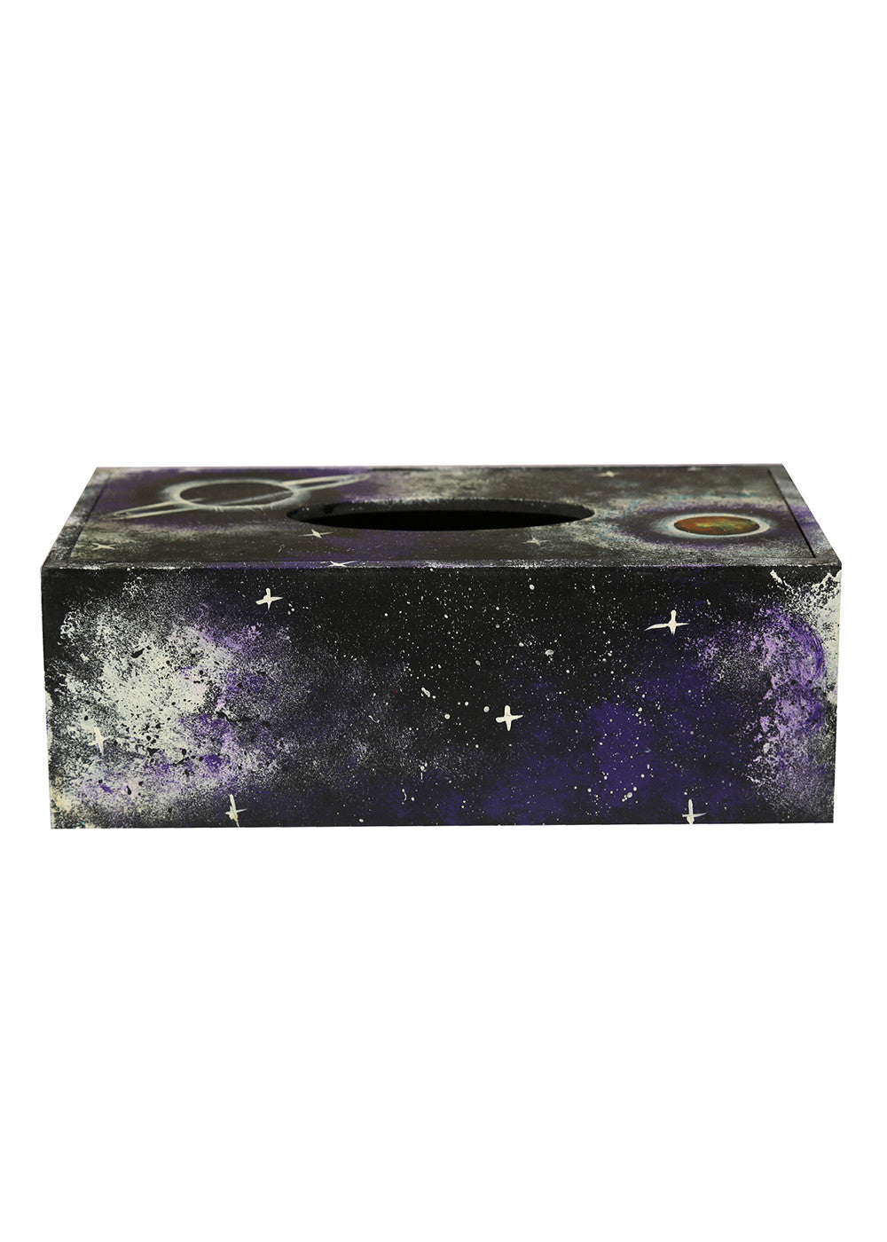 Hand-painted Secrets of Universe Tissue Box Holder - RANGRAGE