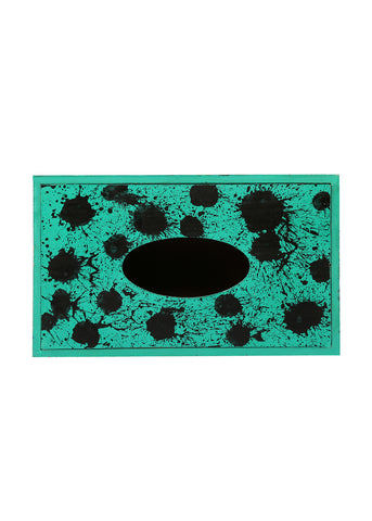 Hand-painted Color Droplets Tissue Box Holder