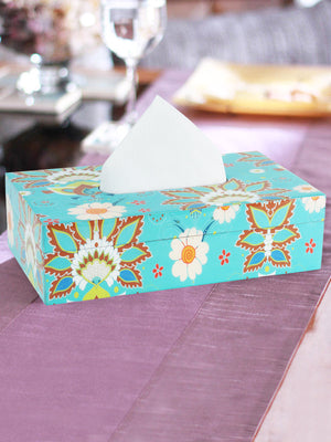 Handcrafted Chaiwala Tissue Box Holder