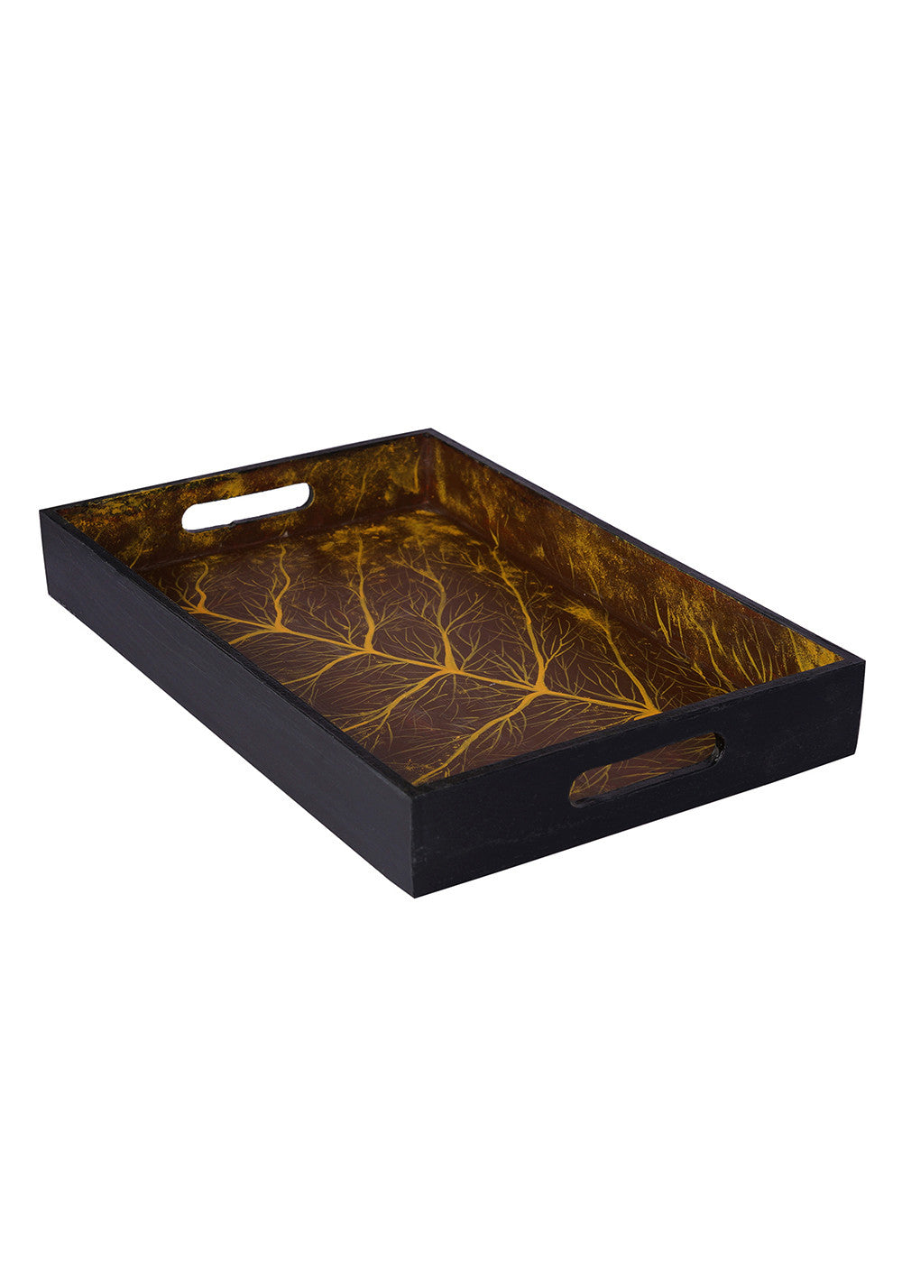 Hand-painted Serene world Exotic Tray - RANGRAGE