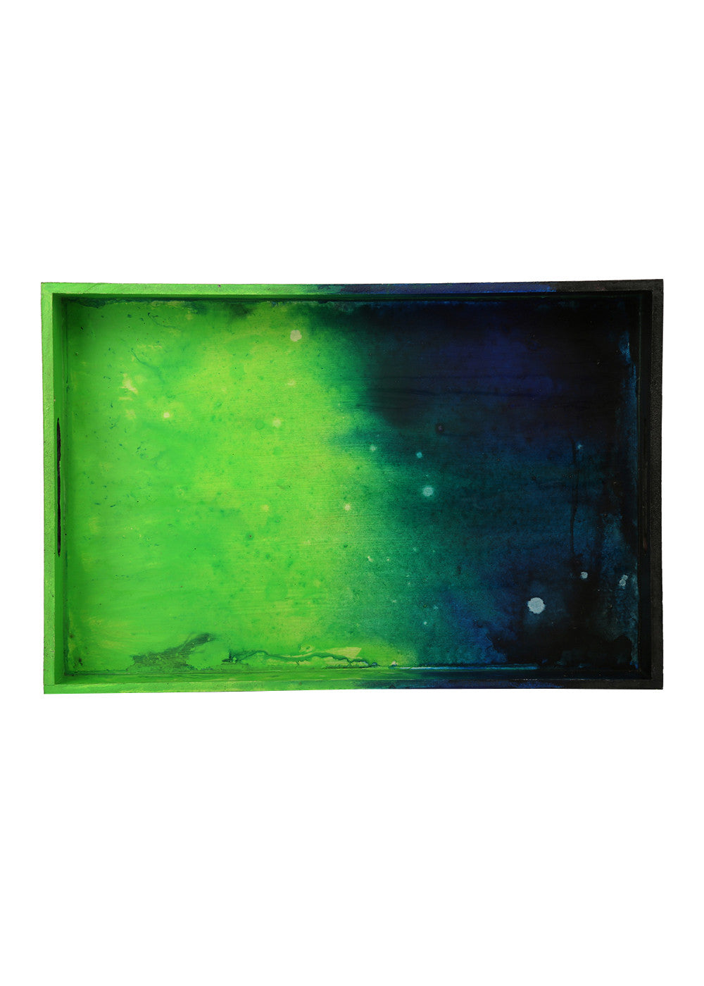 Hand-painted Igniting Colors Exotic Tray - RANGRAGE