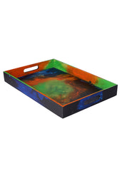 Hand-painted Igniting Colors Grand Tray - RANGRAGE