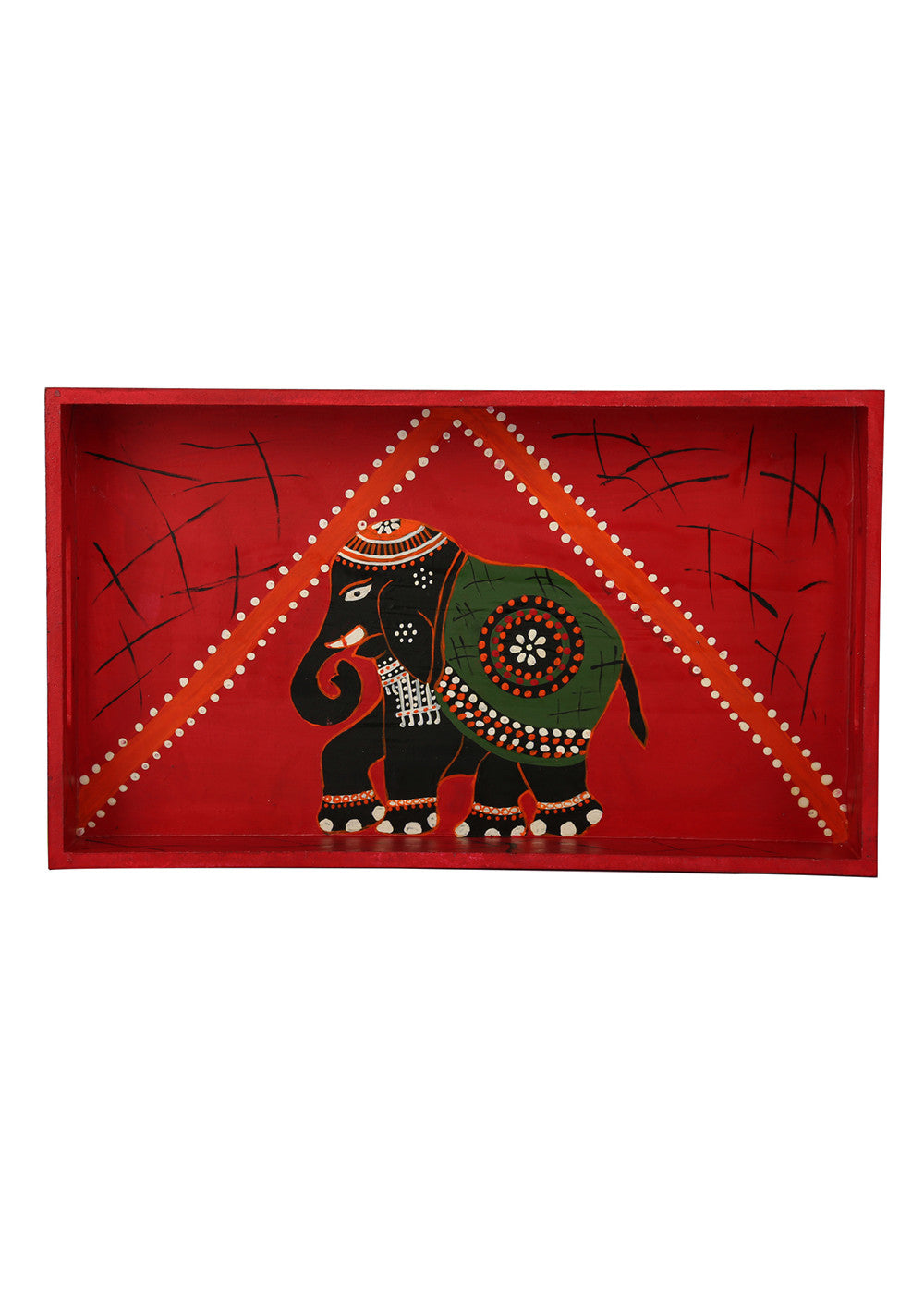 Hand-painted Regal Celebration Classy Tray - RANGRAGE