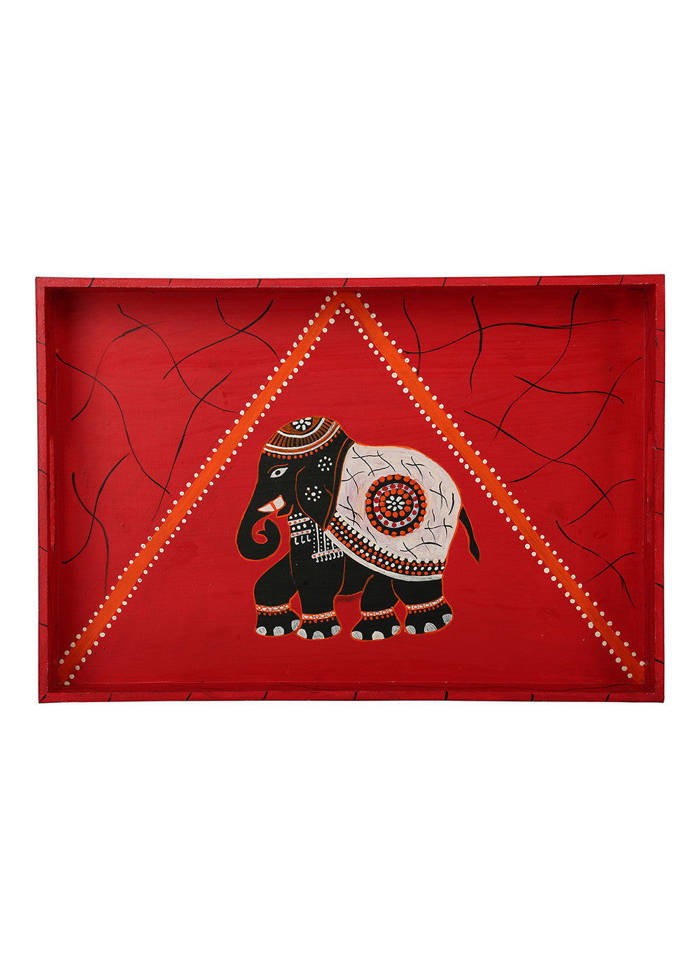 Hand-painted Regal Celebration Grand Tray - RANGRAGE