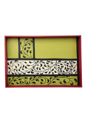 Hand-painted Paisley Magic Grand Tray - RANGRAGE