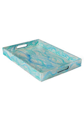 Hand-painted Flowing Essence Grand Tray - RANGRAGE
