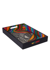 Hand-painted Beauty of Colors Exotic Tray - RANGRAGE