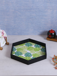 RANGRAGE Handcrafted Hexagonal Serving Tray