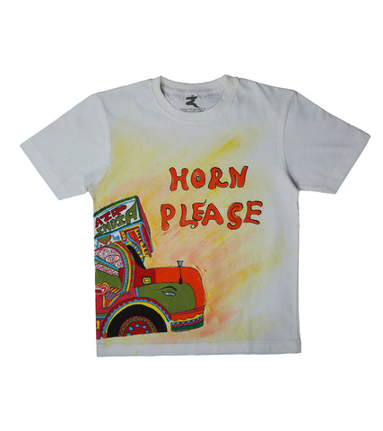 Hand-painted Truck T-shirt
