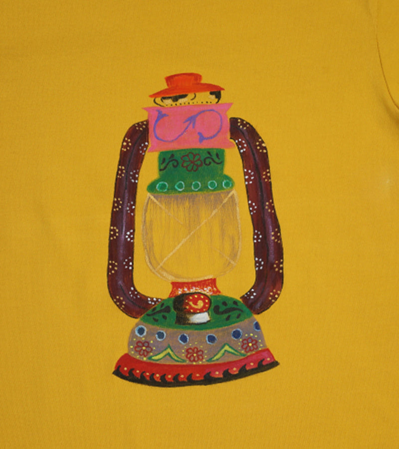 Hand-painted Lantern T-shirt - RANGRAGE  - 2