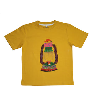 Hand-painted Lantern T-shirt - RANGRAGE  - 1
