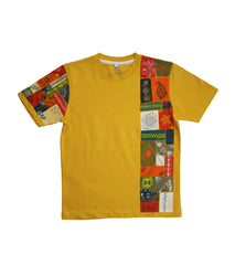 Handpainted Indian Elements T-shirt - Rang Rage  - 1