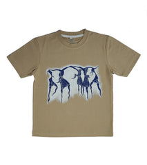Hand-painted Tribal Dance T-shirt - Rang Rage  - 1