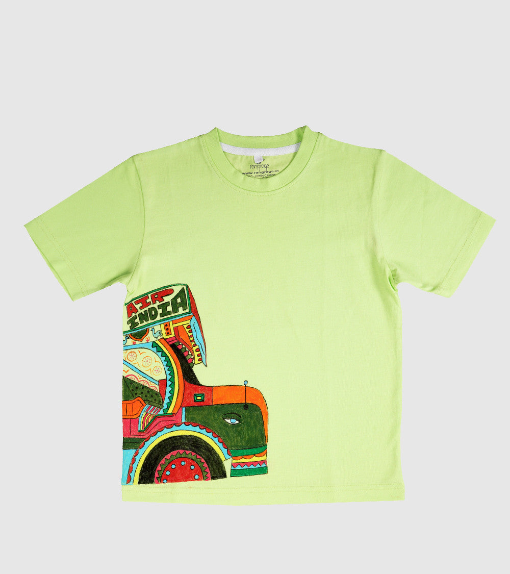 Hand-painted Truck T-shirt - Rang Rage  - 1
