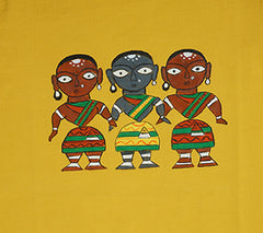 Hand-painted Tribal Trio T-shirt - Rang Rage  - 2