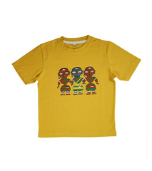 Hand-painted Tribal Trio T-shirt - Rang Rage  - 1
