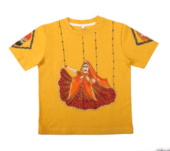 Hand-painted Puppet Bride T-shirt - Rang Rage  - 1