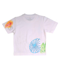 Hand-painted Love India T-shirt - RANGRAGE  - 3