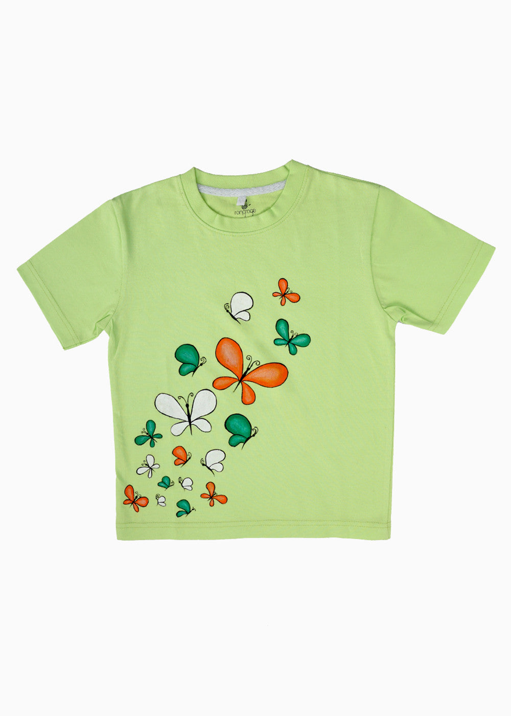 Hand-painted Flying Colors T-shirt - RANGRAGE  - 1
