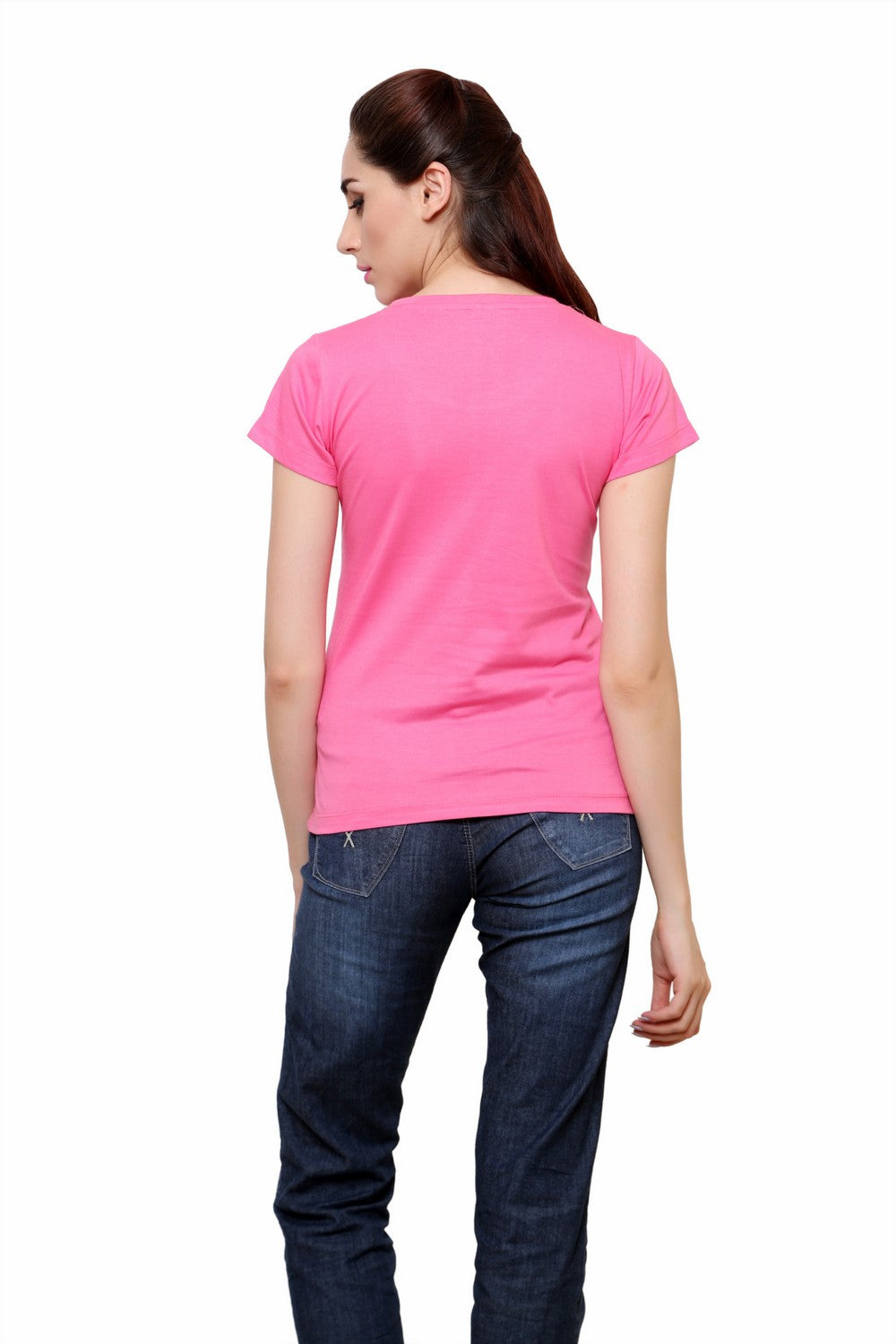 Hand-painted Pink Jewel T-shirt - RANGRAGE