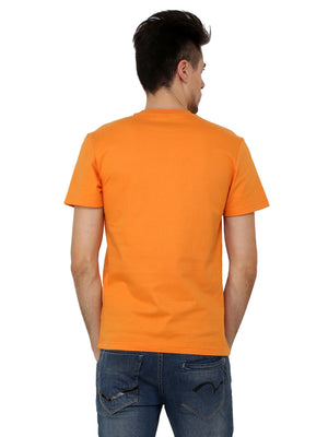 Hand-painted Tractor Orange T-shirt - RANGRAGE  - 2