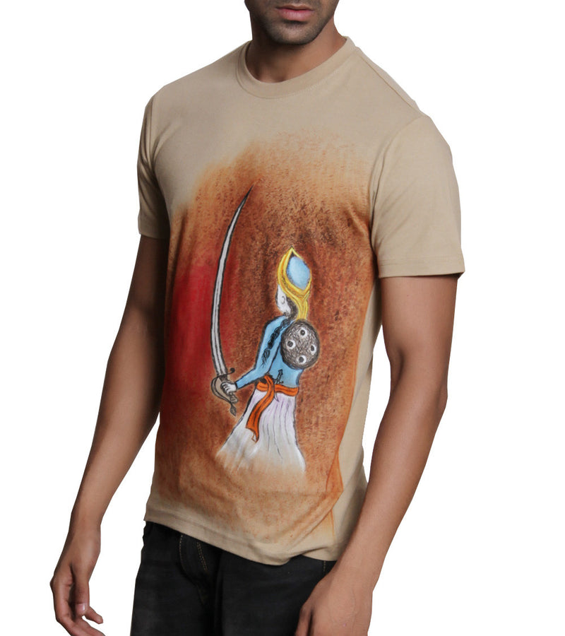 Hand-painted Royal Warrior T-shirt - RANGRAGE  - 2