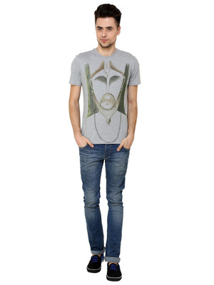 Hand-painted Royal Men T-shirt - RANGRAGE  - 4