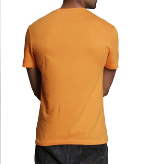 Hand-painted Mystic Aum Orange T-shirt - RANGRAGE  - 4
