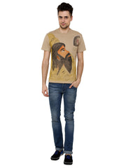 Hand-painted Indian Sage T-shirt - Rang Rage  - 4