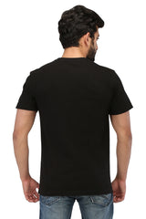 Hand-painted Reigning King Black T-shirt - Rang Rage  - 2