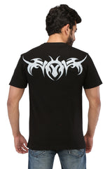 Hand-painted Tribal Tales Black T-shirt - Rang Rage  - 2