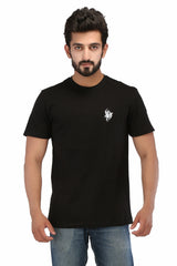 Hand-painted Tribal Tales Black T-shirt - Rang Rage  - 1