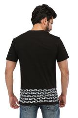 Hand-painted Timeless Bond Black T-shirt - Rang Rage  - 2