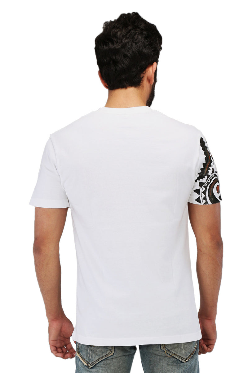 Hand-painted Minimalist Steampunk T-shirt - RANGRAGE  - 2