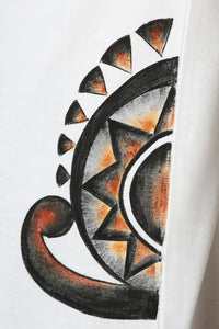 Hand-painted Minimalist Steampunk T-shirt - RANGRAGE  - 8