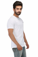 Hand-painted Peace White T-shirt - Rang Rage  - 3