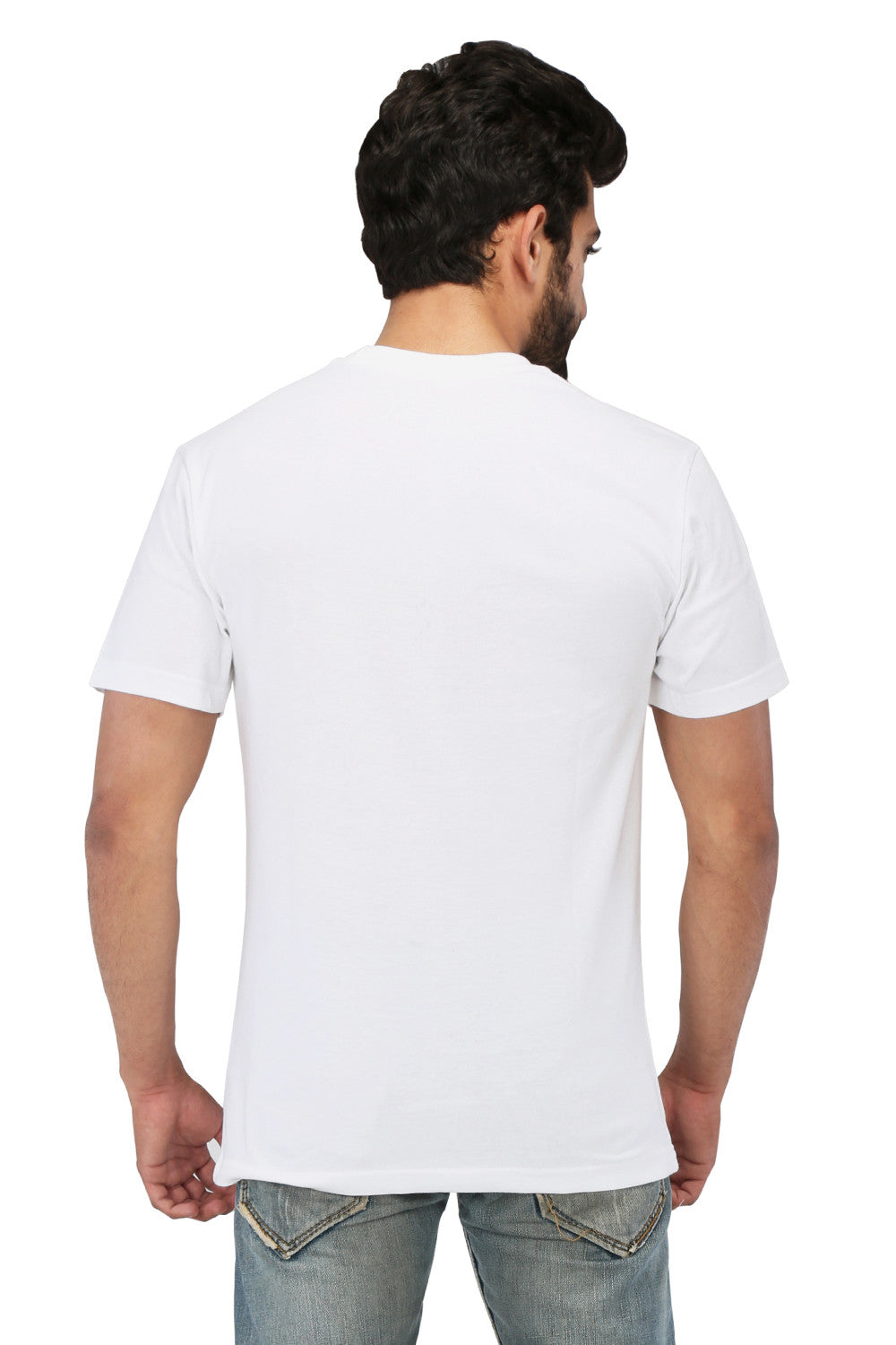 Hand-painted Waves White T-shirt - Rang Rage  - 2