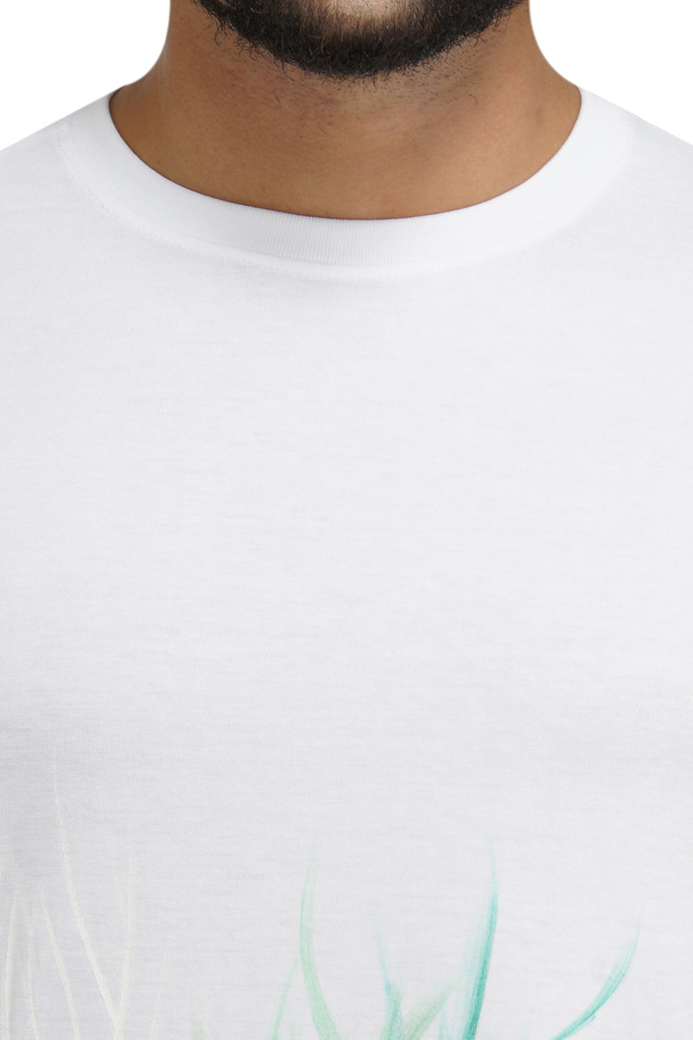 Hand-painted Waves White T-shirt - Rang Rage  - 5