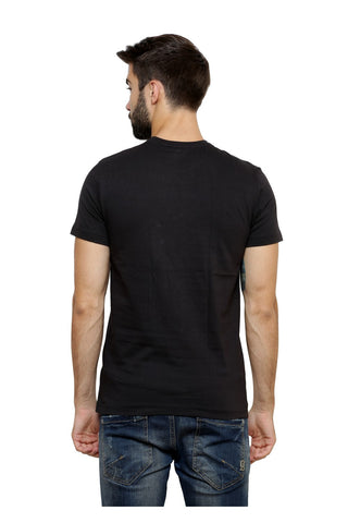 Hand-painted Lebanese Swag Black T-shirt