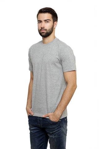 Hand-painted Moroccan Hoop Grey T-shirt