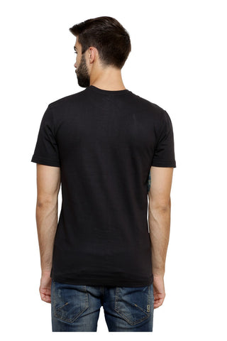Hand-painted Pharaohs Drape Black T-shirt