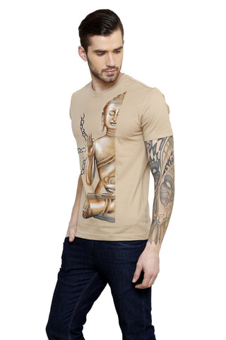 Hand-painted Buddhist Desire T-shirt