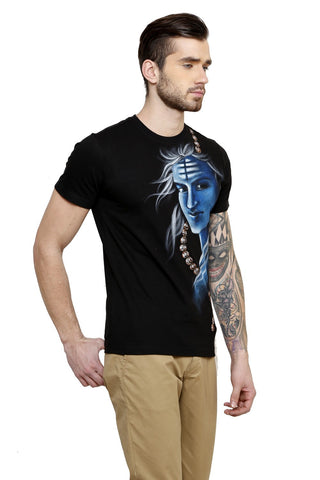 Hand-painted Heroic Shiva T-shirt