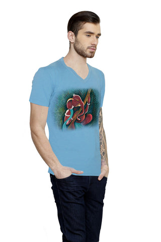 Hand-painted Rhythmic Ganesha T-shirt