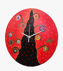 Hand-painted Bright Side Wall Clock - RANGRAGE