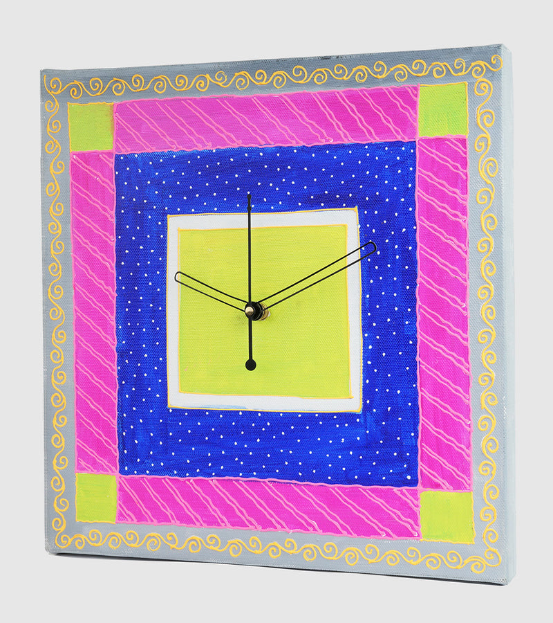 Hand-painted Classy Simplicity Wall Clock - RANGRAGE