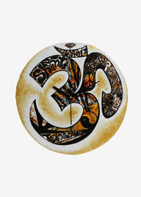 Hand-painted Aum Wall Clock - RANGRAGE
