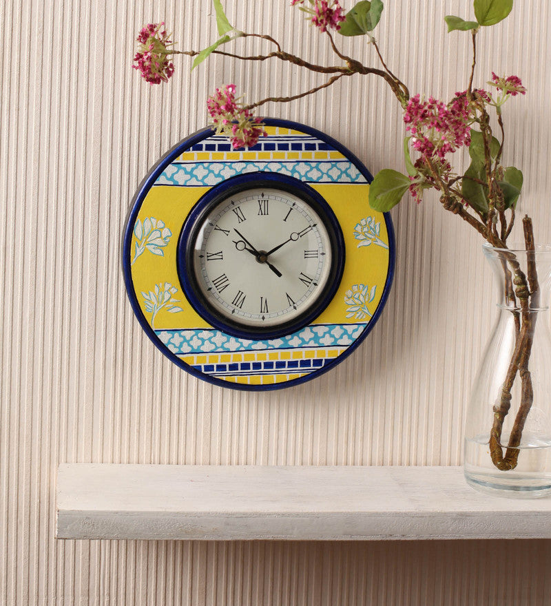 Hand-painted Sunny Bright Wall Clock